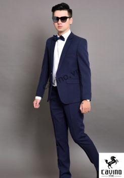 bộ vest xanh tím than 2