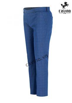 quần âu xanh sợi bạc 3