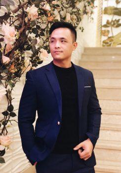 Áo vest nam màu xanh than