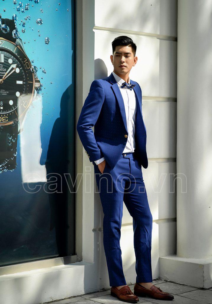 Màu sắc phù hợp cho vest nam trẻ trung Hà Nội