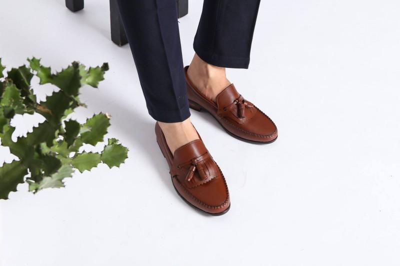 Giày công sở nam cao cấp ANZEDO phong cách hiện đại , thanh lịch