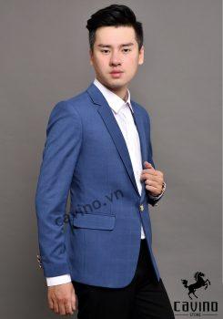 áo vest xanh caro 2