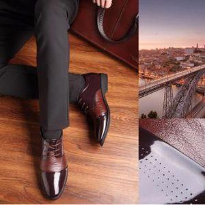 Giày công sở nam cao cấp – giải pháp chuyên nghiệp hóa hình ảnh bản thân