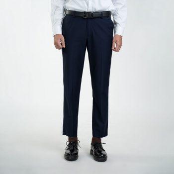 quần âu xanh tím than cao cấp