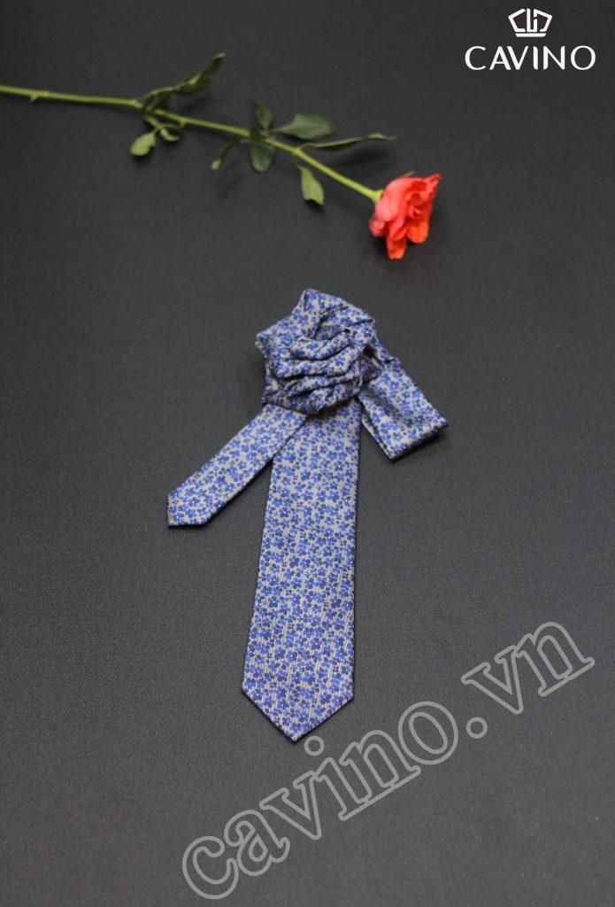 Cà vạt nam màu oải hương lãng mạn