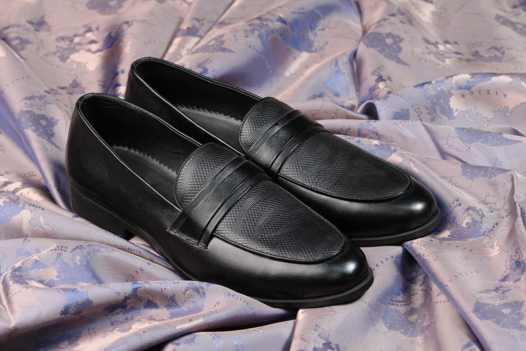 giày lười nam cao cấp họa tiết