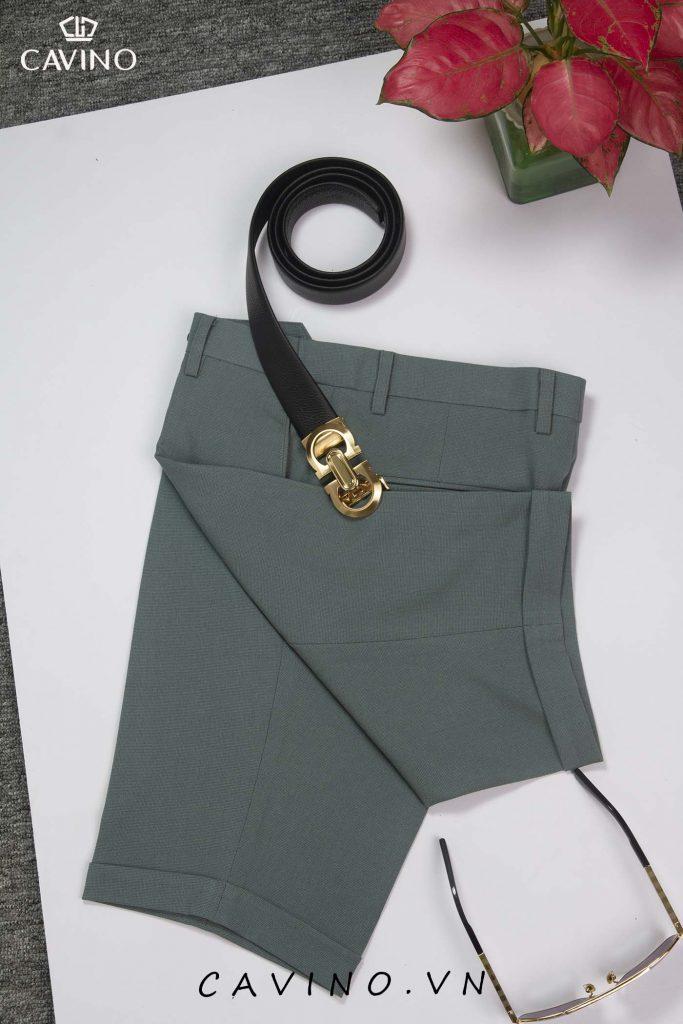 quần sooc xanh ngọc 720
